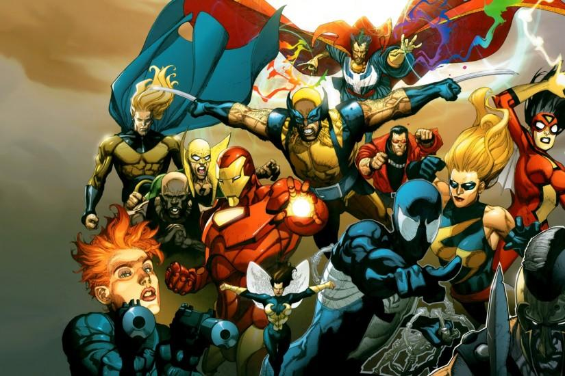 you are viewing marvel comics new avengers hd wallpaper color palette .