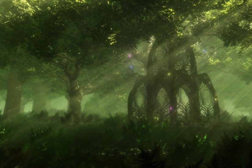 Fantasy Forest Wallpaper