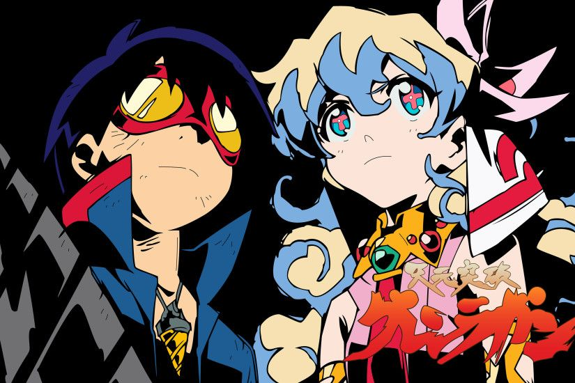 Nia Teppelin and Simon - Tengen Toppa Gurren Lagann [2] wallpaper