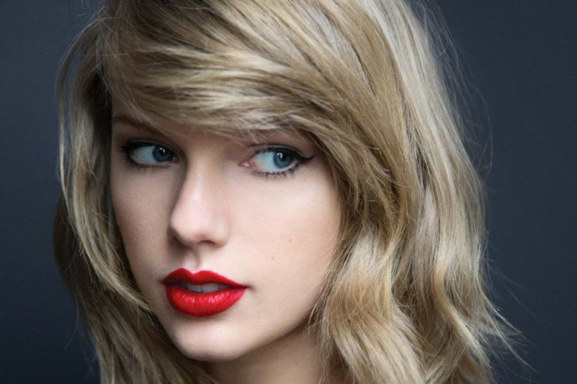 Preview wallpaper taylor swift, celebrity, face, make-up 1920x1080