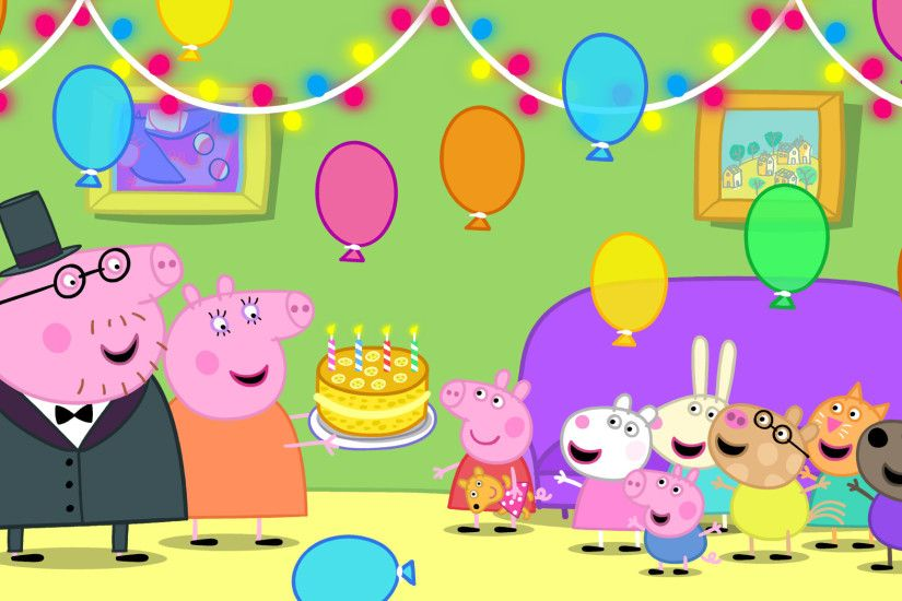 Peppa pig party