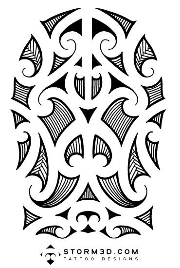 Download a full-size maori tattoo ...