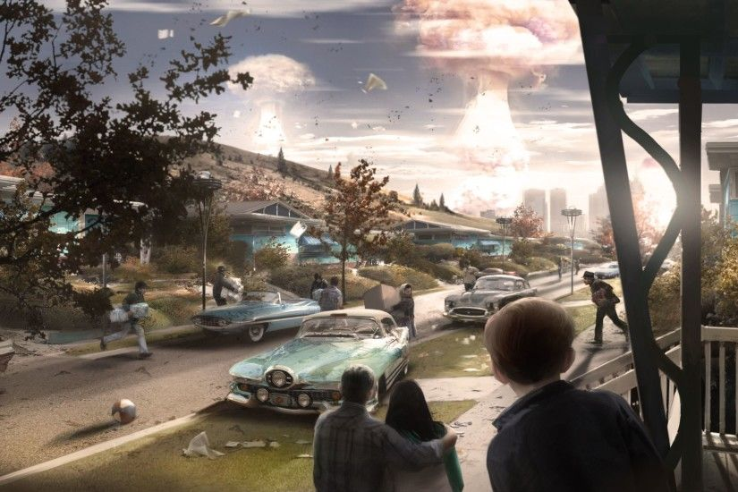 ... mushroom clouds blooming on the horizon, was particularly important to  director Todd Howard, providing his creative team with a sense of purpose  to ...