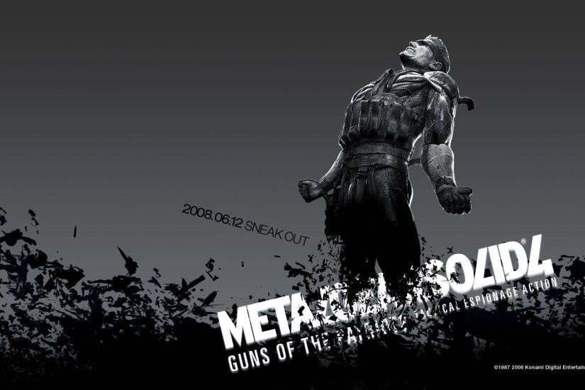 MGS 4 - Games - wallpapers