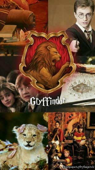 Harry Potter Gryffindor wallpaper! I made this. Like or reblog if you saved.