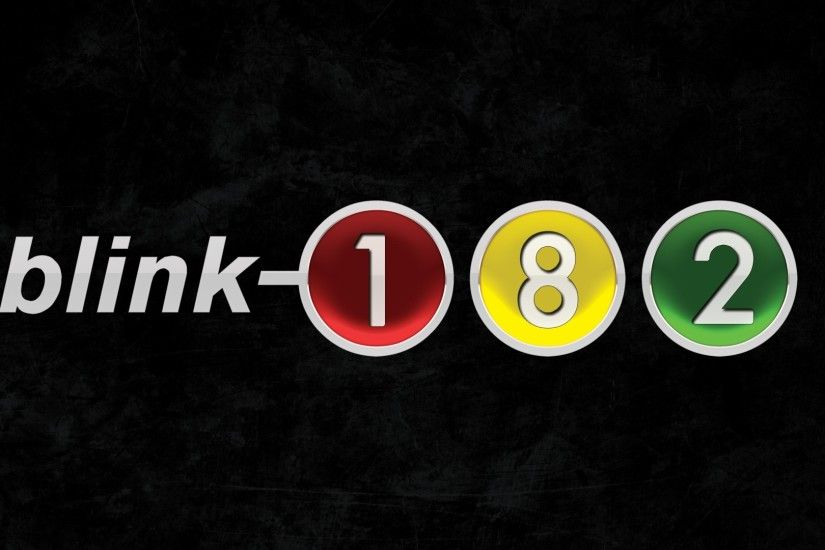 Preview wallpaper blink-182, letters, figures, colors, traffic light  1920x1080