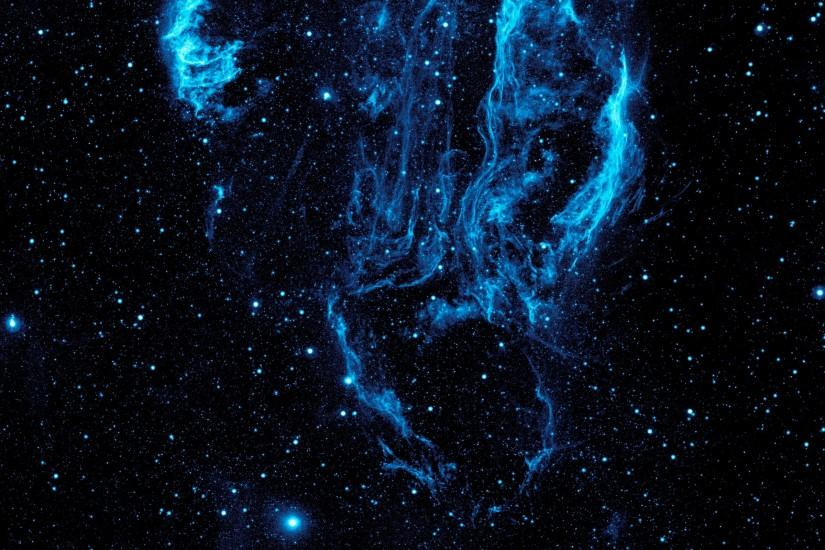 Blue Space Wallpaper 32324