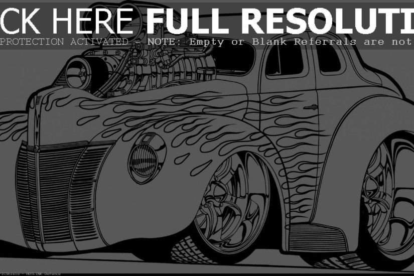 Rat Fink Coloring Pages And