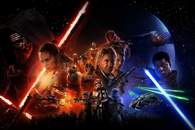 amazing star wars the force awakens wallpaper 1920x1080 for ipad pro
