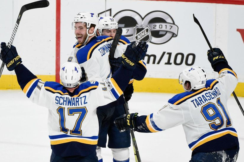 NHL scores, highlights: 2017 Stanley Cup playoffs open with OT wins by  Blues, Sharks | NHL | Sporting News