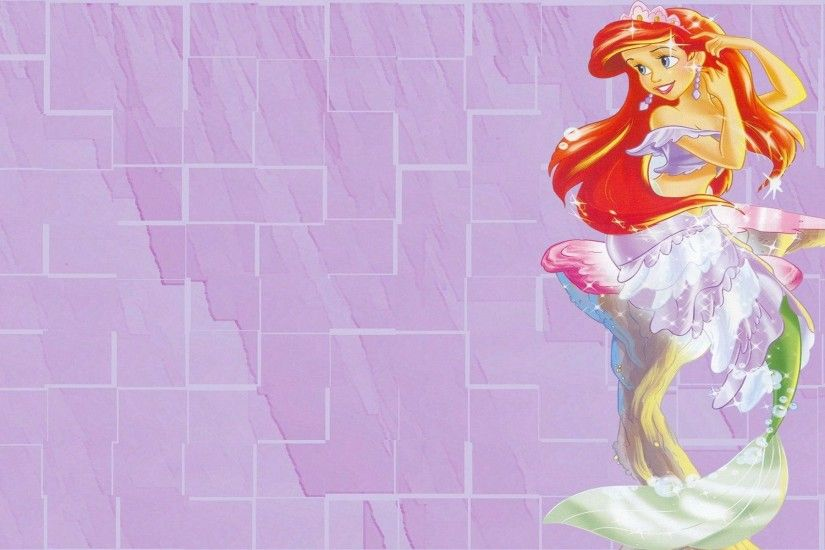 Ariel Disney Princess In The Little Mermaid Wallpaper #1395 .