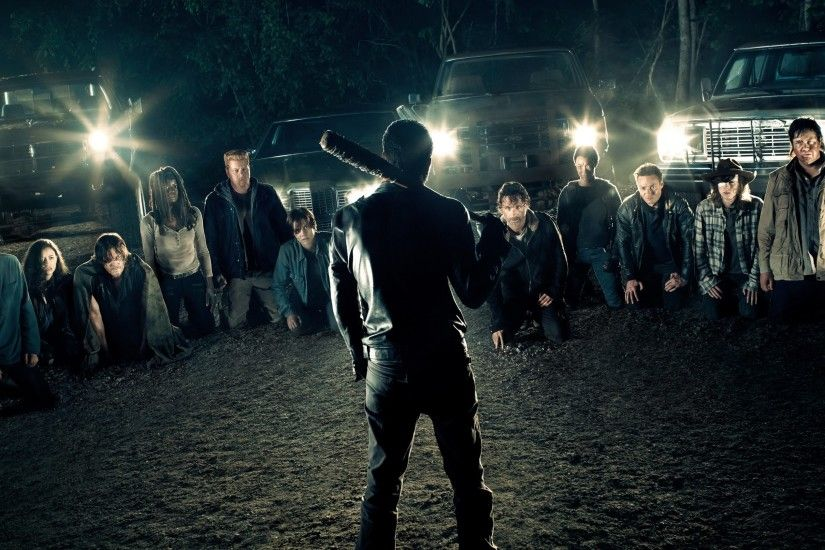 18 Negan (The Walking Dead) HD Wallpapers | Backgrounds - Wallpaper Abyss