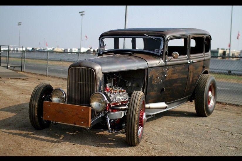 Vehicles - Hot Rod Classic Car Classic Rat Rod Wallpaper