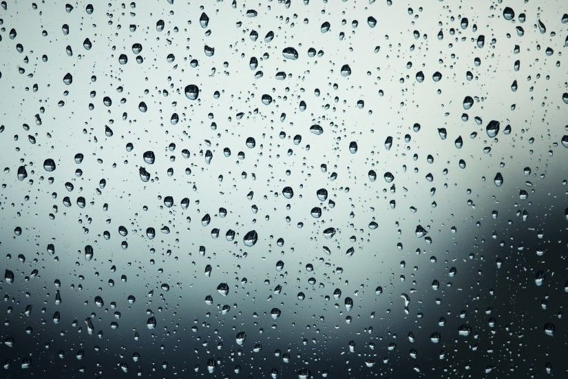 ... Rain drops on the window