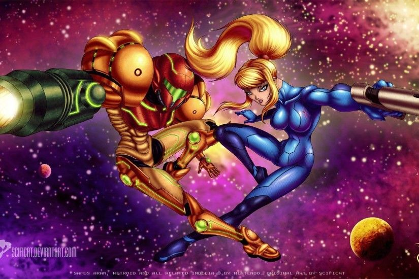 Metroid Samus Wallpaper 1920x1080 px Free Download - Wallpaperest .