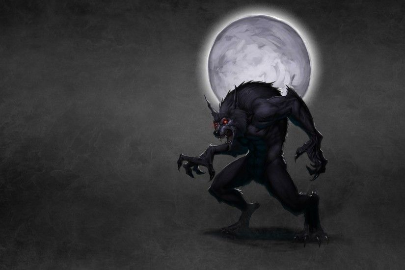 wolf wolf werewolf moon werewolf dusky background smoke red eyes