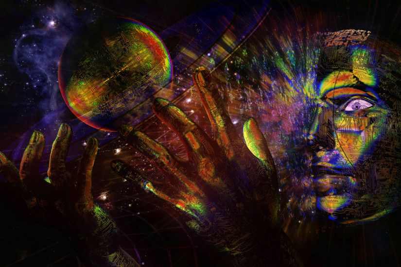 surrealist trippy pictures | psychedelic cg digital art sci fi science  space universe surreal mood .