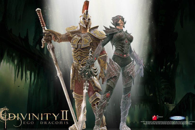 Wallpaper from Divinity II: Ego Draconis