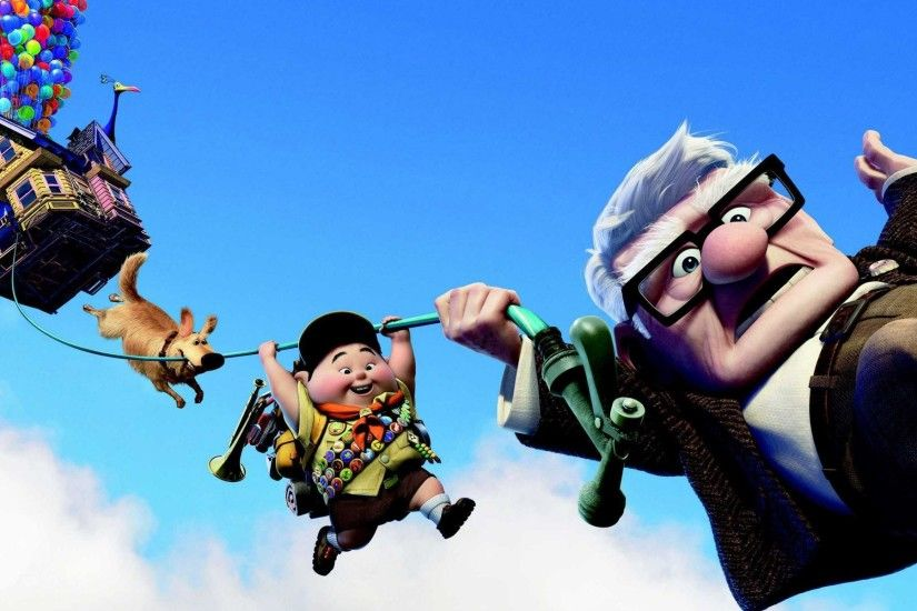 Pixar's UP Dual Monitor HD Wallpapers