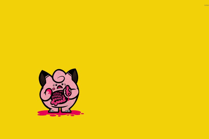 Eviscerated Jigglypuff wallpaper 1920x1200 jpg