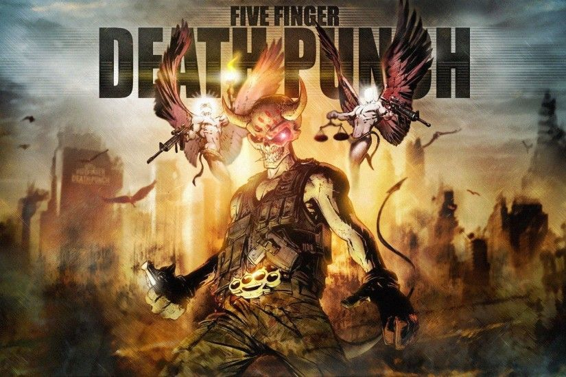 Five Finger Death Punch HD Wallpaper | 1920x1080 | ID:44633
