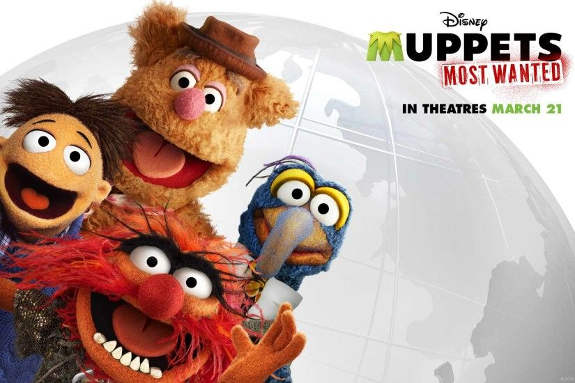 Disney's MUPPETS MOST WANTED Wallpapers HD Backgrounds & Photos