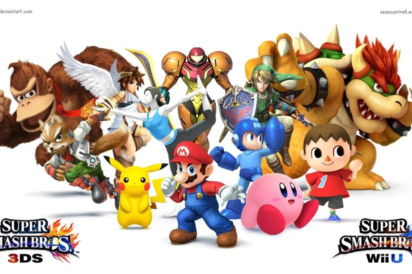 download smash bros wallpaper 1920x1080 picture