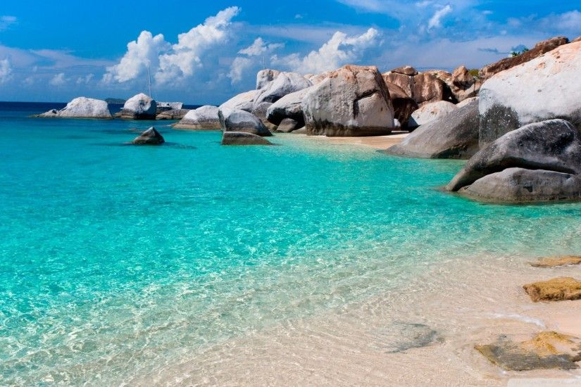 Beautiful Summer Beach Scenes Wallpapers