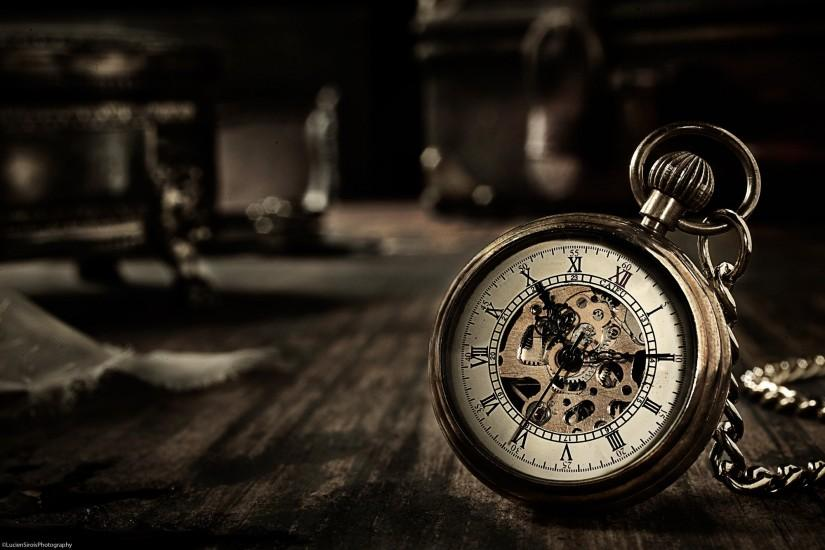 pocket watch time clock bokeh wallpaper background