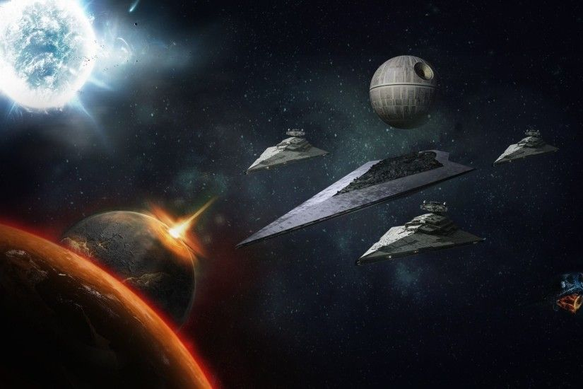 Death Star Backgrounds HD.