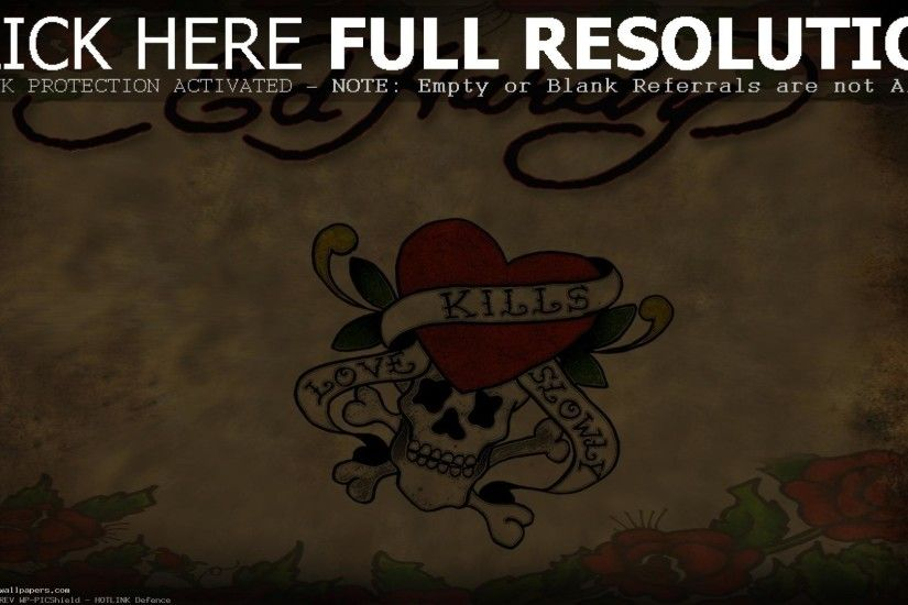 ... Ed Hardy Pictures Wallpapers 3D 4K ed hardy pictures love kills slowly  wallpaper background image download