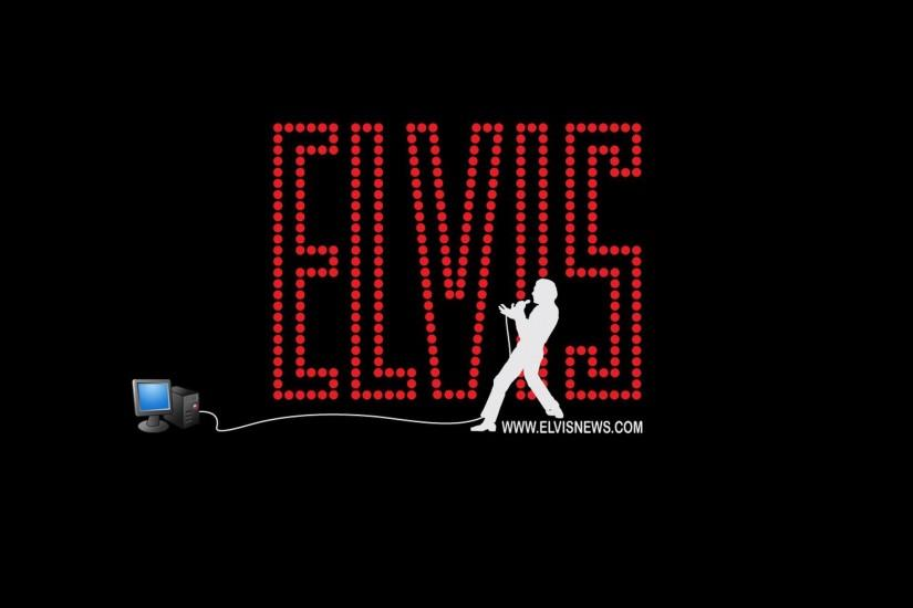 Music - Elvis Presley Rock & Roll The King Music Wallpaper