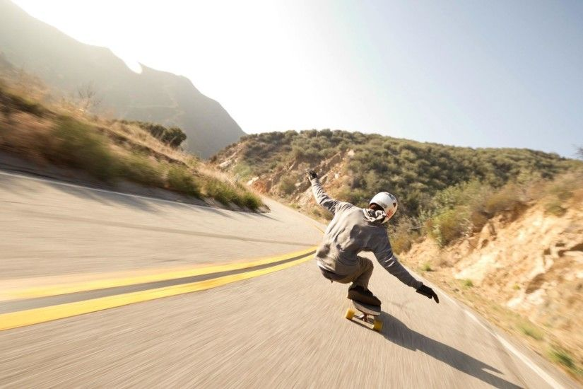 Longboarding Wallpaper