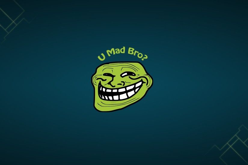 Troll Face Funny Meme HD Wallpaper For Desktop and Mobile