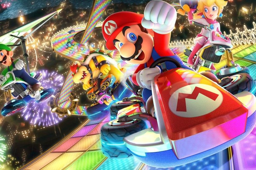 Mario Kart 8 Deluxe Nintendo Switch 1920x1080 wallpaper