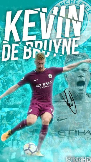 ... Kevin de Bruyne Phone Wallpaper 2017/2018 by GraphicSamHD