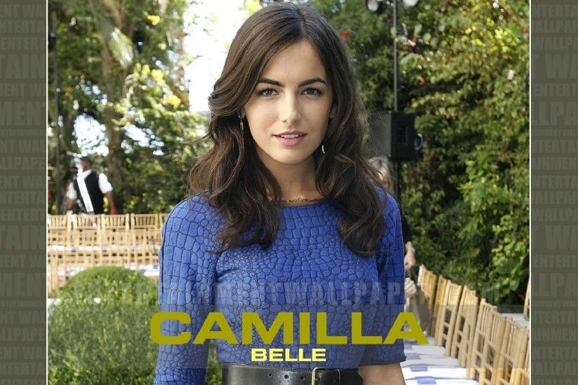 Camilla Belle Wallpaper - Original size, download now.