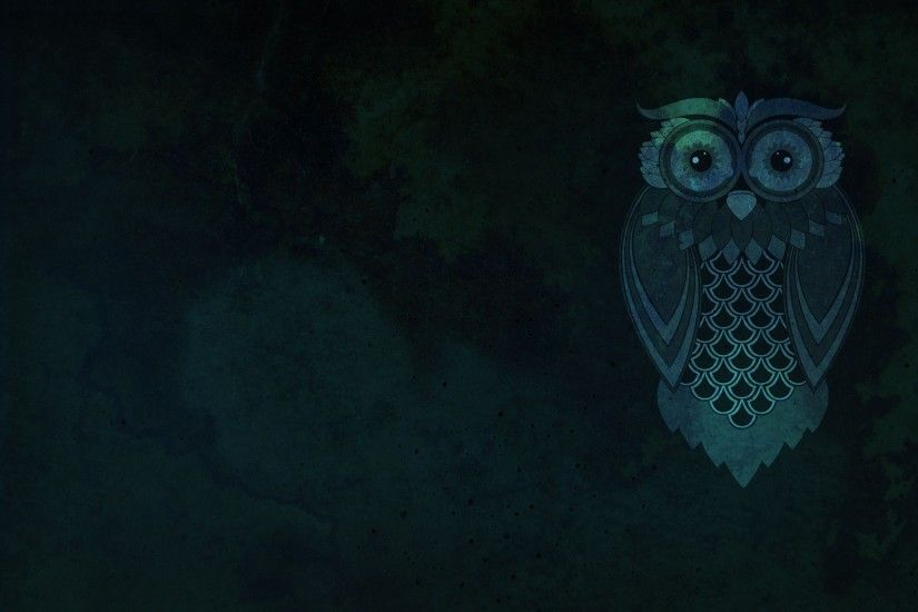 pin Drawn owl desktop wallpaper #5