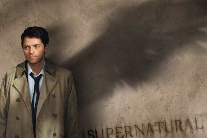 Supernatural Wallpaper Castiel 72 images
