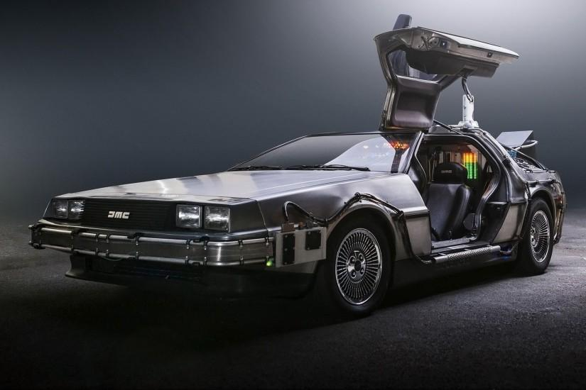 DeLorean, DMC-12, Back to the Future, Time Machine, DeLorean