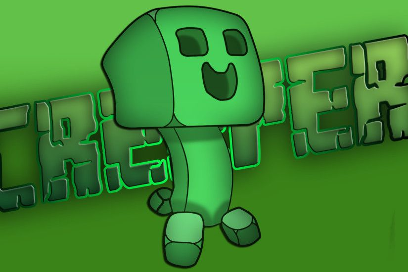 Creeper - Minecraft HD Wallpaper 1920x1080