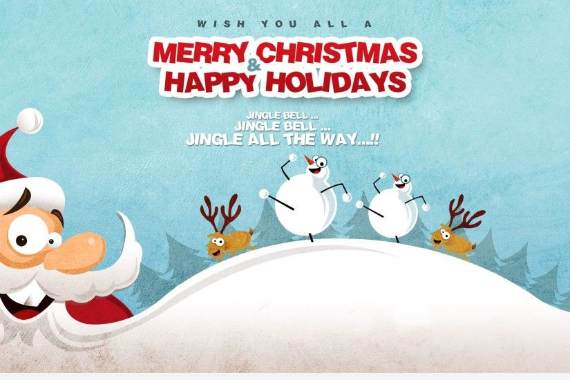 merry-christmas-new-year-2015-Santa-Claus-vector-. Merry Christmas  Wallpapers