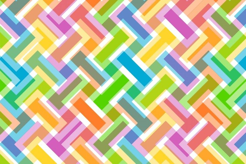 Abstract Pattern Colorful Wallpaper