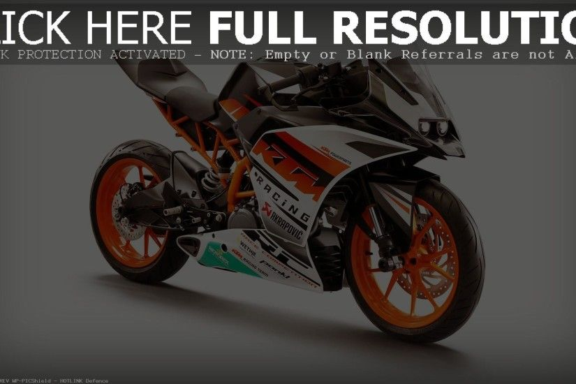 2015 KTM RC390 hd wallpapers