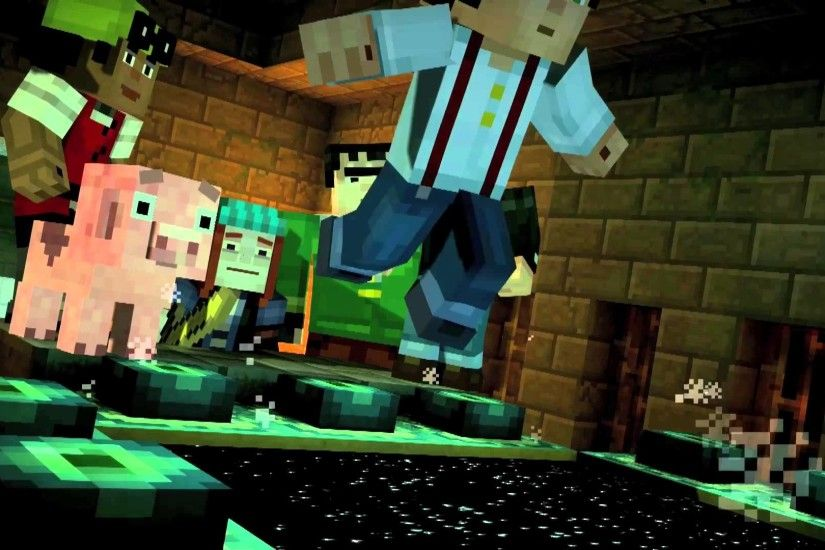 ... Minecraft: Story Mode - Episode 3: The Last Place You Look Desktop  wallpapers