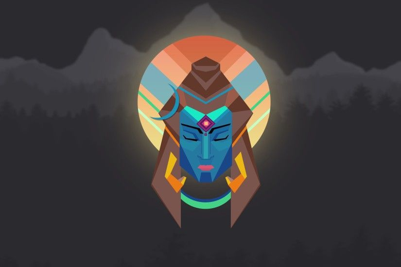 Lord Shiva Minimal Wallpaper - OC [3840X2160] ...