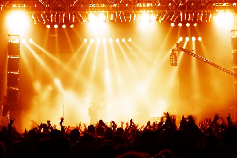 Top Rock Concert Background Wallpapers