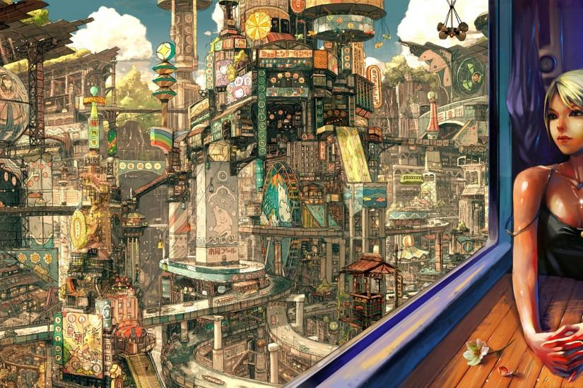 amazing steampunk background 2000x1116 720p