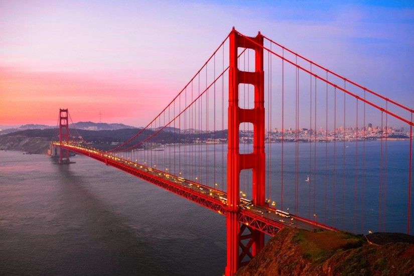 Man Made - Golden Gate Man Made San Francisco Bridge Wallpaper