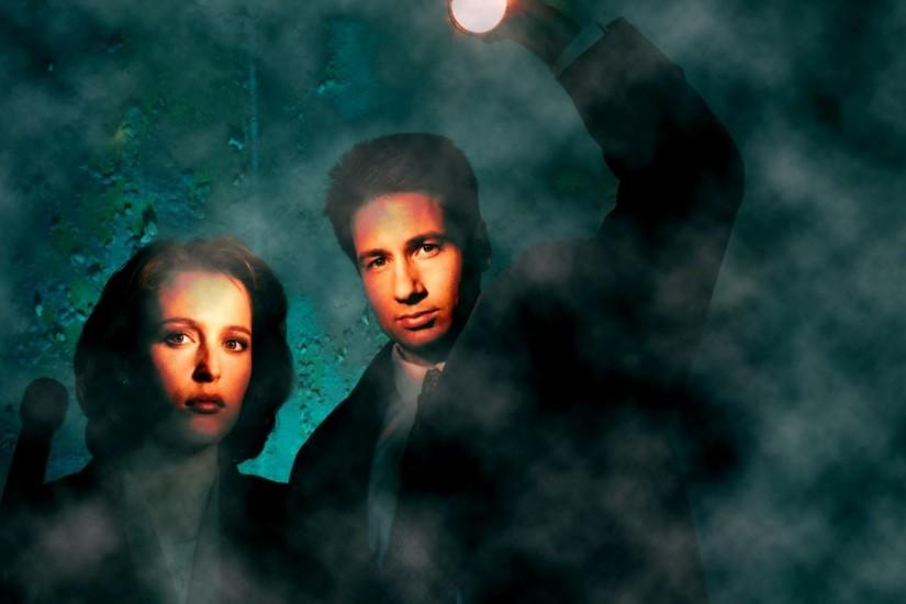 The X Files TV Fox Mulder Dana Scully wallpaper download